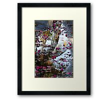 Pedals and Palms Framed Print