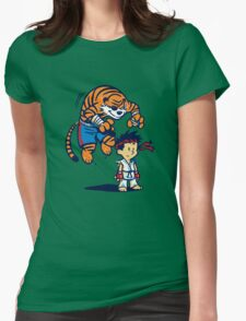 Tiger! Womens Fitted T-Shirt