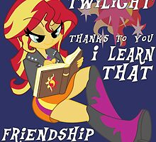 "Friend ""ship"" is magic! by DistopiaDesing"