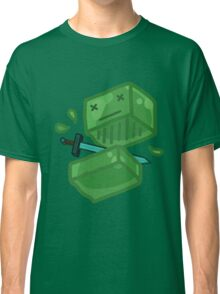 Slaying a slime Classic T-Shirt
