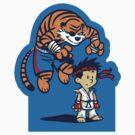 Tiger! - STICKER by WinterArtwork