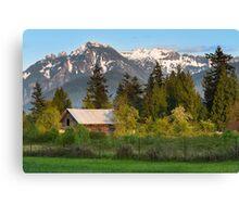 Haystack Mountain Canvas Print