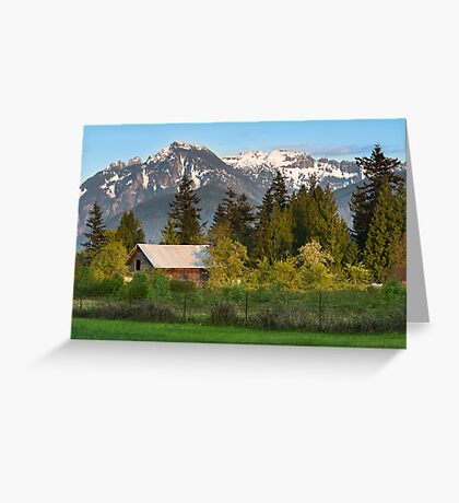 Haystack Mountain Greeting Card