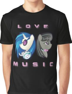 Love the Music Graphic T-Shirt