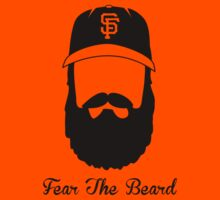 Fear The Beard (black) by trey3d