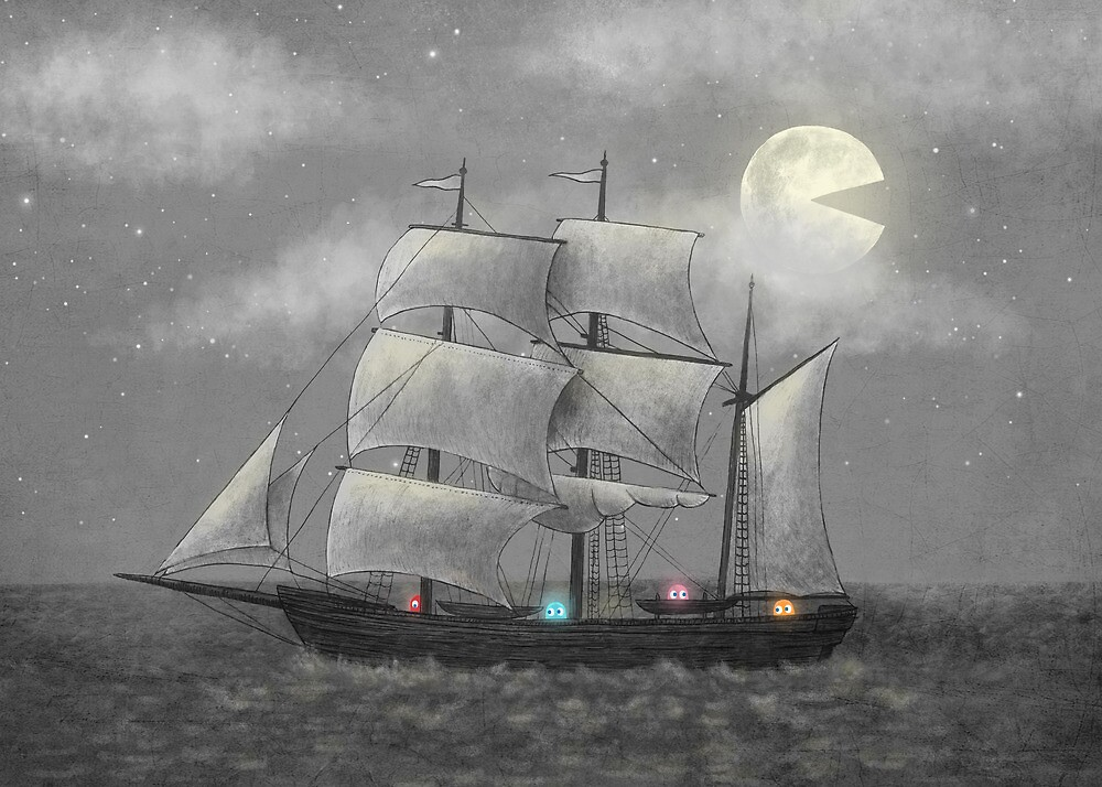 Ghost Ship by Terry  Fan