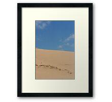 Ska Oregon dunes Framed Print