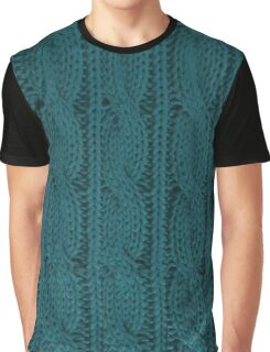 Knit Graphic T-Shirt