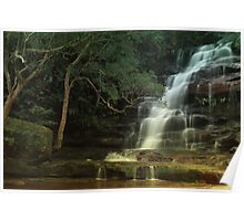 Somersby Falls - Brisbane Water National Park - Gosford NSW Poster