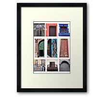 Puertas Americanas Framed Print