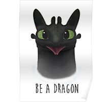 Be a Dragon Poster