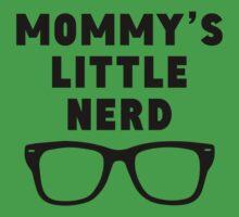 Mommy's Little Nerd One Piece - Short Sleeve