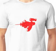 Alien Ray Gun - Red Unisex T-Shirt