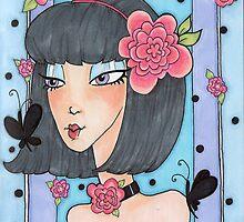 Butterflies & blossoms by lexilou37