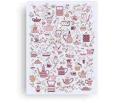 Teapots #1 Canvas Print