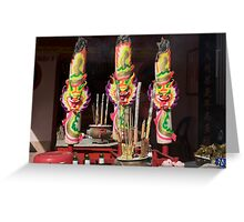 Festival Candles Greeting Card