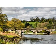 The Bridge at Sawley . Photographic Print