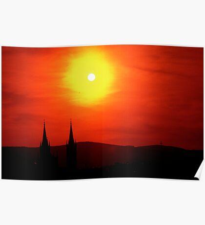 Vienna Sunset Poster