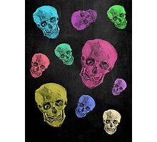 Van Gogh Skull remixed Photographic Print