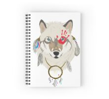 Spirited Wolf Spiral Notebook