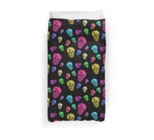 Van Gogh Skull remixed Duvet Cover
