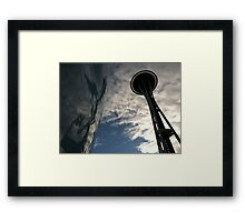 The Space Needle and EMP  Framed Print