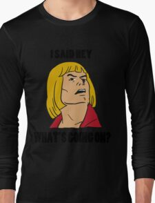 He-Man Long Sleeve T-Shirt