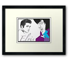 THE KING - YOUNG & OLD Framed Print