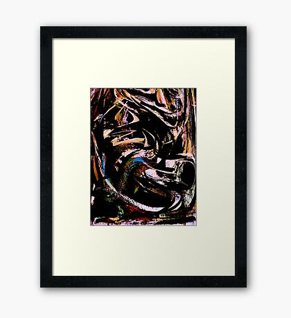 disguise.....  Framed Print