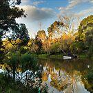 Sunset - Yarra River by Colin  Ewington