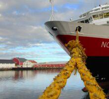 Hurtigruten MS Nordkapp - Svolvær, Norway Sticker