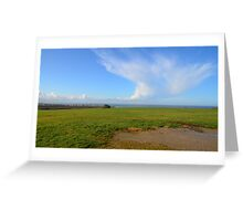 View on Audresselles Greeting Card
