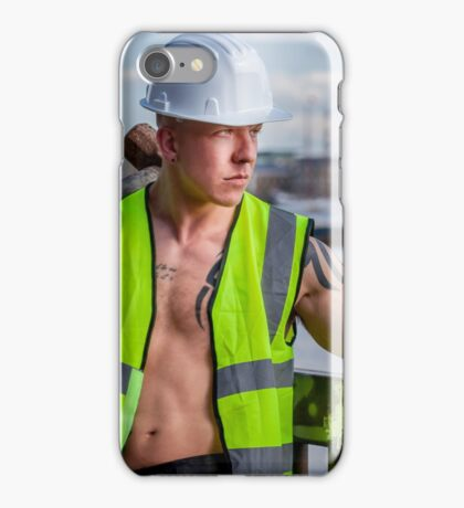 Working the walkways of the Thames in London with Ash iPhone Case/Skin