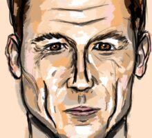 Tobias Menzies Portrait Sticker