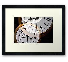 Clock Framed Print