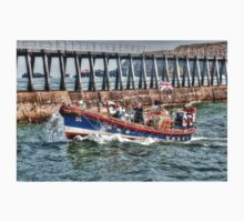 Whitby's Old Lifeboat, RNLI Mary Ann Hepworth One Piece - Long Sleeve