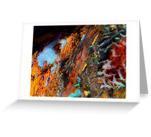 Rainbow Waterfall Greeting Card