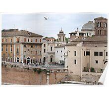 Isola Tiberina, Roma Poster