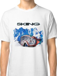Vintage Snow Skiing gifts Classic T-Shirt