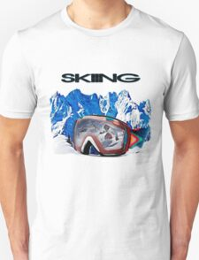Vintage Snow Skiing gifts Unisex T-Shirt