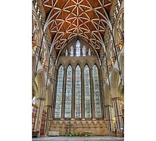 York Minster North Transept Photographic Print