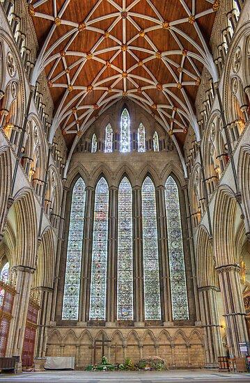 York Minster North Transept by Devereux Purdon