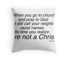 Thought of the Day Throw Pillow