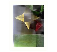Red, Yellow and Green 4 Art Print