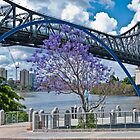 Story Bridge Through Arch Brisbane Australia by PhotoJoJo