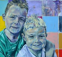 'boys' commissioned by Cat Leonard
