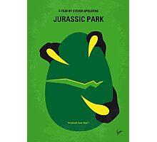 No047 My Jurassic Park minimal movie poster Photographic Print