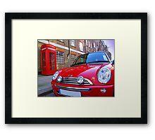 Mini One - London Framed Print