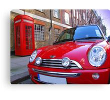 Mini One - London Canvas Print