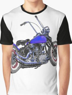 Knucklehead bobber in colour Graphic T-Shirt
